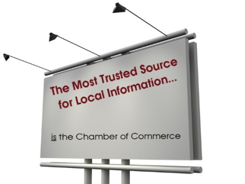 Most Trusted Source for Local Information is the Chamber of Commerce