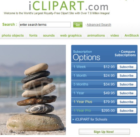 iClipART Website for Chambers of Commerce